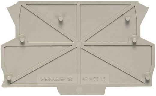 Abschlussplatte Beige 1 St. Weidmüller AP MCZ1.5