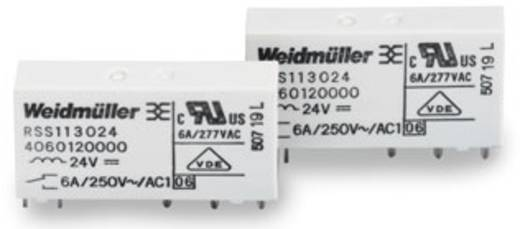 Steckrelais 12 V/DC 6 A 1 Wechsler Weidmüller RSS113012 12Vdc-Rel1U 1 St.