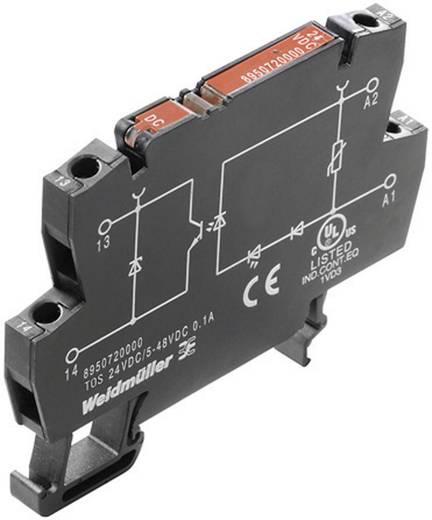 Optokopplerrelais 1 St. Weidmüller TOS 24VDC/230VAC 0,1A Schaltspannung (max.): 230 V/AC