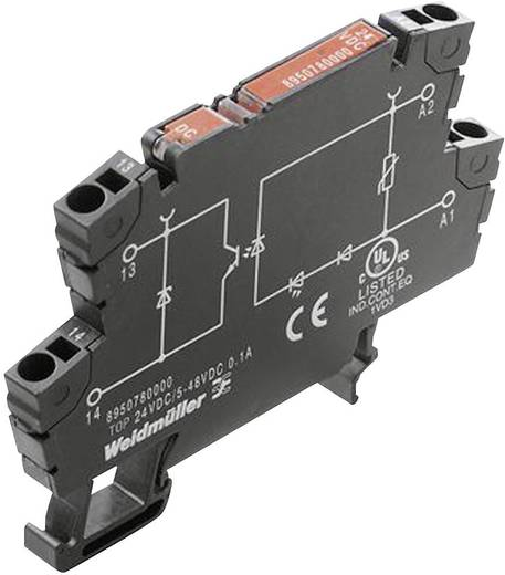 Halbleiterrelais 1 St. Weidmüller TOS 24VDC/24VDC 4A Schaltspannung (max.): 33 V/DC
