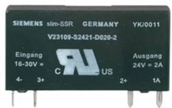 MOS relé SSR SSS Weidmüller 4061190000, 2 A, SSS Relais 24V/24V 2Adc