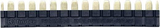 Kammbrücke 250 V/AC Polzahl: 16 Schwarz 1 St. Finder 093.16.0