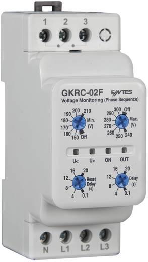 Überwachungsrelais 1 Wechsler 1 St. ENTES GKRC-02F Spannung