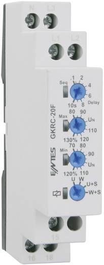 Spannungsüberwachungsrelais GKRC-20F ENTES GKRC-20F Kontaktart 1 Wechsler 8 A