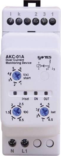Stromüberwachungsrelais AKC ENTES AKC-01A Kontaktart 1 Wechsler 8 A