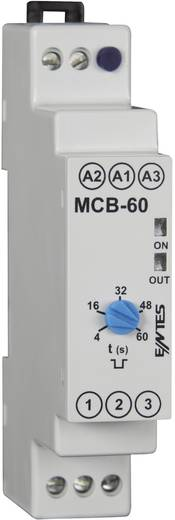 ENTES MCB-60 Zeitrelais Monofunktional 24 V/DC, 24 V/AC, 230 V/AC 1 St. Zeitbereich: 4 - 60 s 1 Wechsler