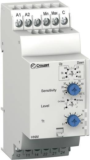 Überwachungsrelais 24 V/DC, 24 V/AC, 240 V/DC, 240 V/AC 2 Wechsler 1 St. Crouzet HNM Füllstandsüberwachung, Zu- oder Abp