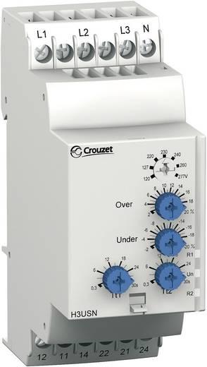 Relais zur Spannungsüberwachung bei Drehstrom Crouzet H3USN Überwachungsrelais für Drehstromnetze/Phasen