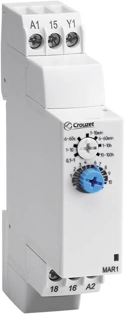 Relais temporisé multifonction Crouzet 88827115 Plage temporelle: 1 s - 100 h 1 inverseur (RT) 1 pc(s)