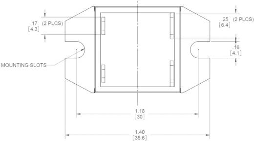 Halbleiterrelais 1 St. Crydom EL240A20-12 Last-Strom (max.): 20 A Schaltspannung (max.): 280 V/AC Nullspannungsschaltend