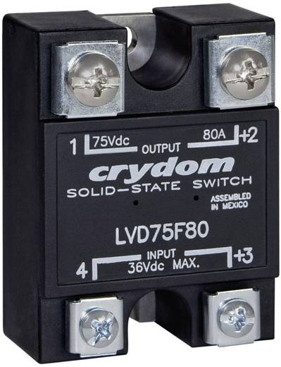 Halbleiterrelais 1 St. Crydom LVD75D100 Last-Strom (max.): 100 A Schaltspannung (max.): 75 V/DC