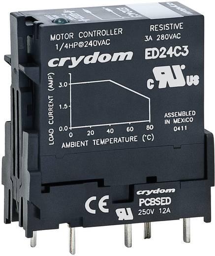 Halbleiterrelais 1 St. Crydom ED24D3R Last-Strom (max.): 3 A Schaltspannung (max.): 280 V/AC Sofortschaltend