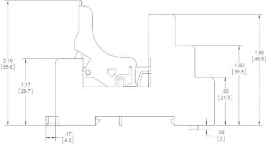Relaissockel 1 St. Crydom DRSED Passend für Serie: Crydom Serie ED (L x B x H) 71 x 15.5 x 49.5 mm