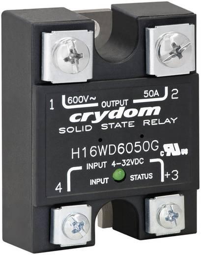 Halbleiterrelais 1 St. Crydom H16WD6090G Last-Strom (max.): 90 A Schaltspannung (max.): 660 V/AC Nullspannungsschaltend