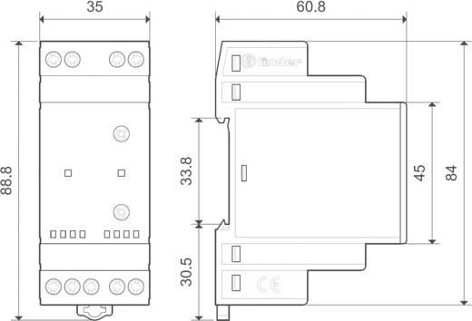 Pumpen-Umschaltrelais 240 V/AC, 240 V/DC 1 Schließer, 1 Schließer 1 St. Finder 72.42.0.230.0000