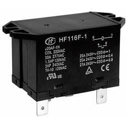 Záťažové relé Hongfa HF116F-1/024DA-2HTW, 24 V/DC, 25 A, 2 spínacie, 1 ks