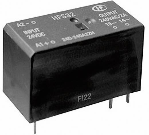 Halbleiterrelais 1 St. Hongfa HFS32D/24D-24D5M-NH Last-Strom (max.): 5 A Schaltspannung (max.): 28.8 V/DC Sofortschalten