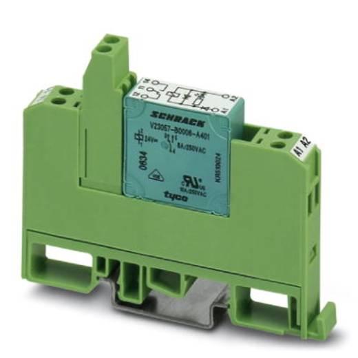 Relaisbaustein 10 St. Phoenix Contact EMG 10-REL/KSR-120/21-LC Nennspannung: 120 V/DC, 120 V/AC Schaltstrom (max.): 6 A 1 Wechsler