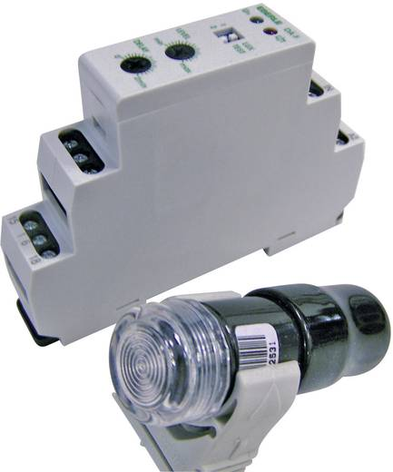 Dämmerungsschalter 1 St. DÄ-F 565 19 Eberle 240 V/DC, 240 V/AC 1 Wechsler (L x B x H) 64 x 17.6 x 90 mm