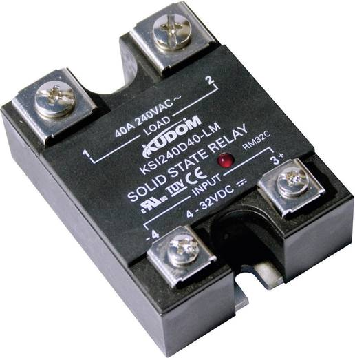 Halbleiterrelais 1 St. Kudom KSI240 D40 LM Last-Strom (max.): 40 A Schaltspannung (max.): 240 V/AC Nullspannungsschaltend