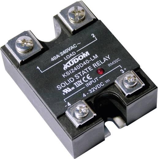 Halbleiterrelais 1 St. Kudom KSI240 D40 LM Last-Strom (max.): 40 A Schaltspannung (max.): 240 V/AC Sofortschaltend