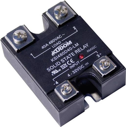 Halbleiterrelais 1 St. Kudom KSI480 D60 LM Last-Strom (max.): 60 A Schaltspannung (max.): 530 V/AC