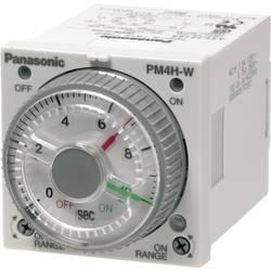 Multifunkční časové relé dvojité Panasonic PM4HWH24WJ, 5 A 250 V/AC , 10 VA