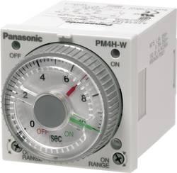 Multifunkční časové relé dvojité Panasonic PM4HWHAC240J, 5 A 250 V/AC , 10 VA