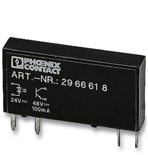 Halbleiterrelais 10 St. Phoenix Contact OPT-24DC/ 48DC/100 Last-Strom (max.): 100 mA Schaltspannung (max.): 48 V/DC