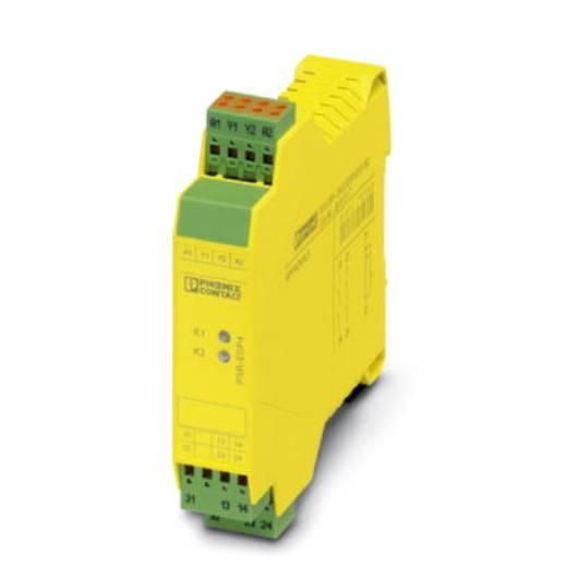 Sicherheitsrelais 1 St. PSR-SPP- 24DC/ESP4/2X1/1X2 Phoenix Contact Betriebsspannung: 24 V/DC 2 Schließer (B x H x T) 22.