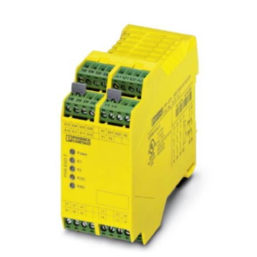 Sicherheitsrelais 1 St. PSR-SCP- 24DC/ESD/5X1/1X2/ T 2 Phoenix Contact Betriebsspannung: 24 V/DC 3 Schließer, 1 Öffner (B x H x T) 45 x 99 x 114.5 mm