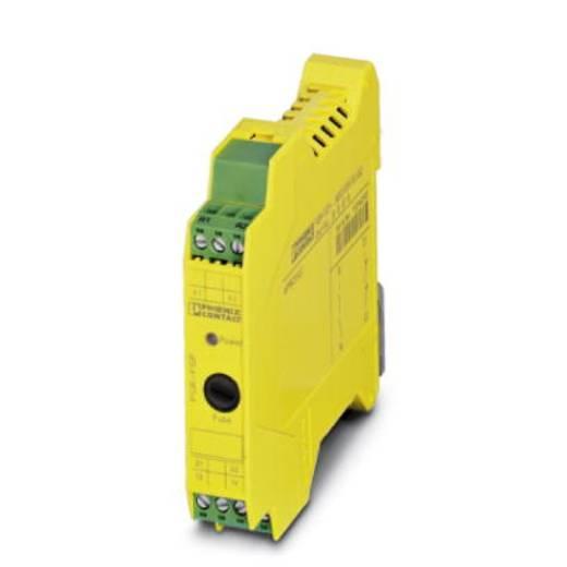 Sicherheitsrelais 1 St. PSR-SCP- 24DC/FSP/1X1/1X2 Phoenix Contact Betriebsspannung: 24 V/DC 1 Schließer (B x H x T) 17.5