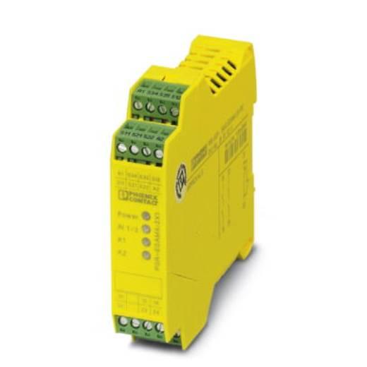 Sicherheitsrelais 1 St. PSR-SPP- 24UC/ESAM4/2X1/1X2 Phoenix Contact Betriebsspannung: 24 V/DC, 24 V/AC 2 Schließer (B x