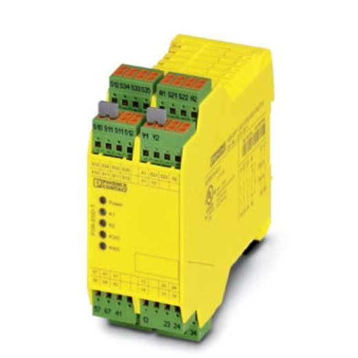 Sicherheitsrelais 1 St. PSR-SPP- 24DC/ESD/5X1/1X2/T10S Phoenix Contact Betriebsspannung: 24 V/DC 3 Schließer, 1 Öffner (B x H x T) 45 x 112 x 114.5 mm