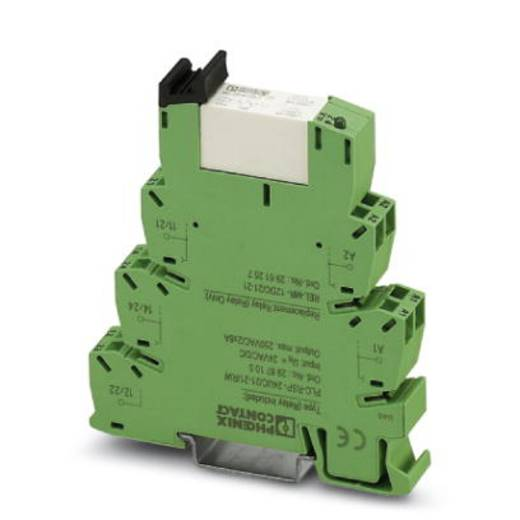 Interfacerelais 10 St. 24 V/DC, 24 V/AC 50 mA 2 Wechsler Phoenix Contact PLC-RPT- 24UC/21-21AU/RW