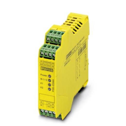 Sicherheitsrelais 1 St. PSR-SCP- 24UC/ESM4/2X1/1X2 Phoenix Contact Betriebsspannung: 24 V/DC, 24 V/AC 2 Schließer (B x H