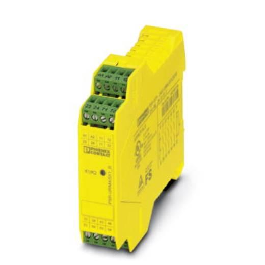 Sicherheitsrelais 1 St. PSR-SCP- 24UC/URM4/5X1/2X2/B Phoenix Contact Betriebsspannung: 24 V/DC, 24 V/AC 5 Schließer, 1 Ö