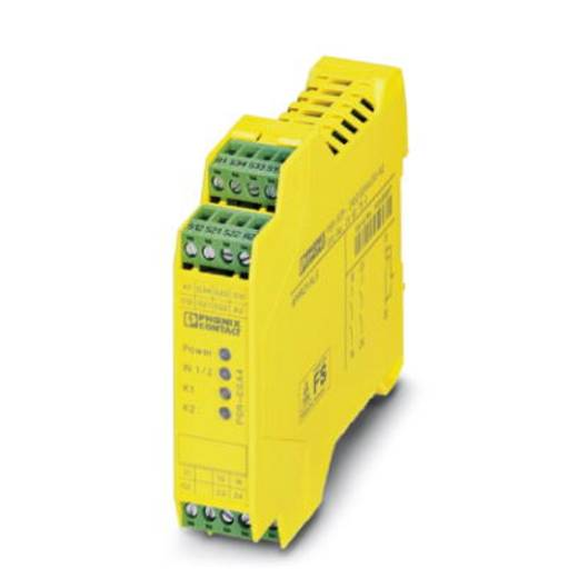 Sicherheitsrelais 1 St. PSR-SCP- 24UC/ESA4/2X1/1X2 Phoenix Contact Betriebsspannung: 24 V/DC, 24 V/AC 2 Schließer (B x H x T) 22.5 x 99 x 114.5 mm Mit Meldestrompfad