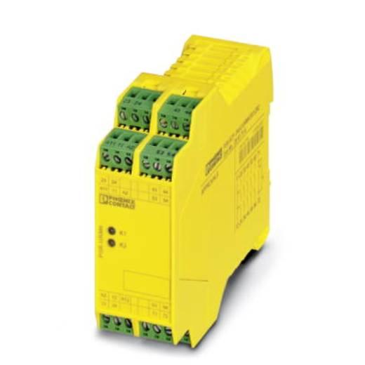 Sicherheitsrelais 1 St. PSR-SPP- 24UC/URM4/5X1/2X2 Phoenix Contact Betriebsspannung: 24 V/DC, 24 V/AC 5 Schließer, 1 Öffner (B x H x T) 35 x 112 x 114.5 mm Mit Rückmeldestrompfad