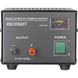 Laboratórny zdroj s pevným napätím VOLTCRAFT FSP-1134, 13.8 V/DC, 4 A, 55 W