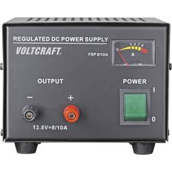 Laboratórny zdroj s pevným napätím VOLTCRAFT FSP-1138, 13.8 V/DC, 8 A, 110 W