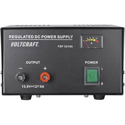 Laboratórny zdroj s pevným napätím VOLTCRAFT FSP-11312, 13.8 V/DC, 12 A, 165 W