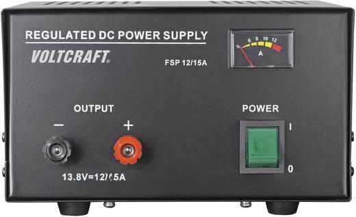 Labornetzgerät, Festspannung VOLTCRAFT FSP-11312 13.8 V/DC 12 A 165 W Anzahl Ausgänge 1 x Kalibriert nach ISO