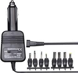 DC / DC menič napätia do auta VOLTCRAFT 1.5 V/DC, 3 V/DC, 4.5 V/DC, 6 V/DC, 7.5 V/DC, 9 V/DC, 12 V/DC/1.2 A