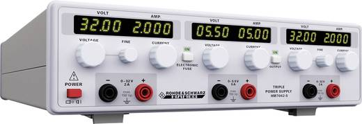 Labornetzgerät, einstellbar Rohde & Schwarz HM7042-5 0 - 32 V/DC 0 - 2 A 156 W Anzahl Ausgänge 3 x Kalibriert nach DAk