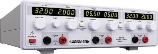 Labornetzgerät, einstellbar Rohde & Schwarz HM7042-5 0 - 32 V/DC 0 - 2 A 156 W Anzahl Ausgänge 3 x Kalibriert nach ISO