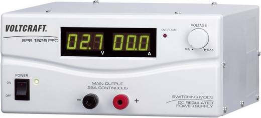 Labornetzgerät, einstellbar VOLTCRAFT SPS 1525 PFC 3 - 15 V/DC 2 - 25 A 375 W Remote Anzahl Ausgänge 1 x