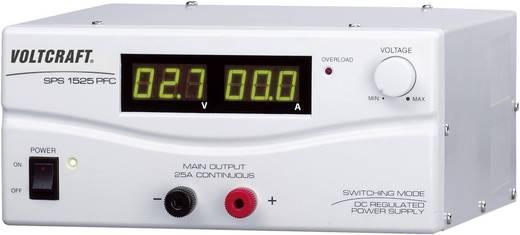 VOLTCRAFT SPS 1525 PFC Labornetzgerät, einstellbar 3 - 15 V/DC 2 - 25 A 375 W Remote Anzahl Ausgänge 1 x Kalibriert nac