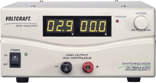 Labornetzgerät, einstellbar VOLTCRAFT SPS 1540 PFC 3 - 15 V/DC 4 - 40 A 600 W Remote Anzahl Ausgänge 1 x Kalibriert nac