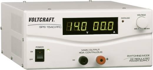Labornetzgerät, einstellbar VOLTCRAFT SPS 1540 PFC 3 - 15 V/DC 4 - 40 A 600 W Remote Anzahl Ausgänge 1 x